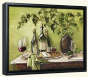 MT-Afternoon Repast-Canvas Art Print