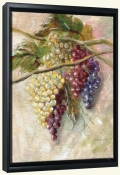 Grape Flourish-MT-Canvas Art Print