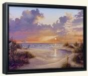 Paradise Sunset-KS-Canvas Art Print