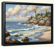 Kims Lighthouse-SK-Canvas Art Print