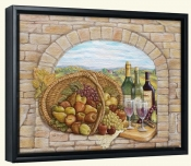 Tuscan Wine III-RB-Canvas Art Print