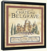 RH-Chateau Belgrave  -Canvas Art Print