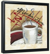 Mocha Java   -Canvas Art Print