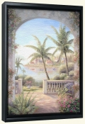 Tropical Terrace II   -Canvas Art Print