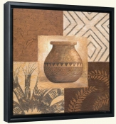 Swahili Vase II   -Canvas Art Print