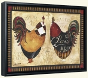 Roosters de Paris I   -Canvas Art Print