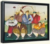 Scottish Links Club   -Canvas Art Print