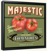 LS-Majestic Tomatoes   -Canvas Art Print