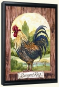 Barnyard King   -Canvas Art Print