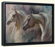 2 Horses   -Canvas Art Print