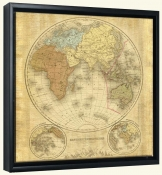 Terre Orbis II  B -Canvas Art Print