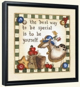 Be Special   -Canvas Art Print