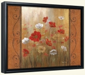 Poppies and Morning Mist I   -Canvas Art Print