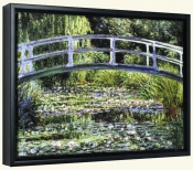 Le Pont Japonais a Giverny   -Canvas Art Print