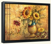 Country Sunflowers I   -Canvas Art Print