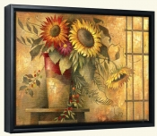 Country Sunflowers II   -Canvas Art Print