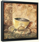 La Caffe I  -Canvas Art Print