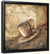 La Caffe IV  -Canvas Art Print