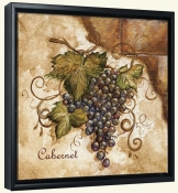 Tuscan Grapes I  -Canvas Art Print