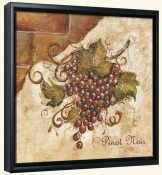 Tuscan Grapes II  -Canvas Art Print