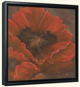 Red Poppy I  -Canvas Art Print