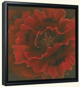Red Poppy II  -Canvas Art Print