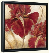 RH-Red Iris  -Canvas Art Print
