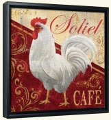 Soliel Caf  -Canvas Art Print