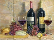 Bread and Wine    - Tile Mural