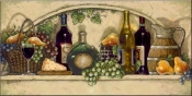 Wine Fruit and Cheese Pantry II-JK - Tile Mural