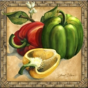 JS - Bell Peppers - Accent Tile