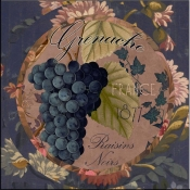 Wines of France IV - CB - Accent Tile