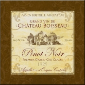 Wine Label 3 Pinot Noir - FSG - Accent Tile