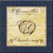 Wine Label 4 Chardonnay - FSG - Accent Tile