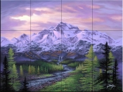 High Sierra Dreaming-JR - Tile Mural