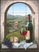 A Bit of Tuscany - BF - Tile Mural